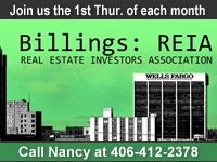 Join other Billings area real estate investors at the Billings REIA