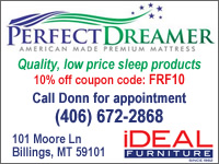 Perfect Dreamer mattresses at Ideal Furniture in Billings, MT